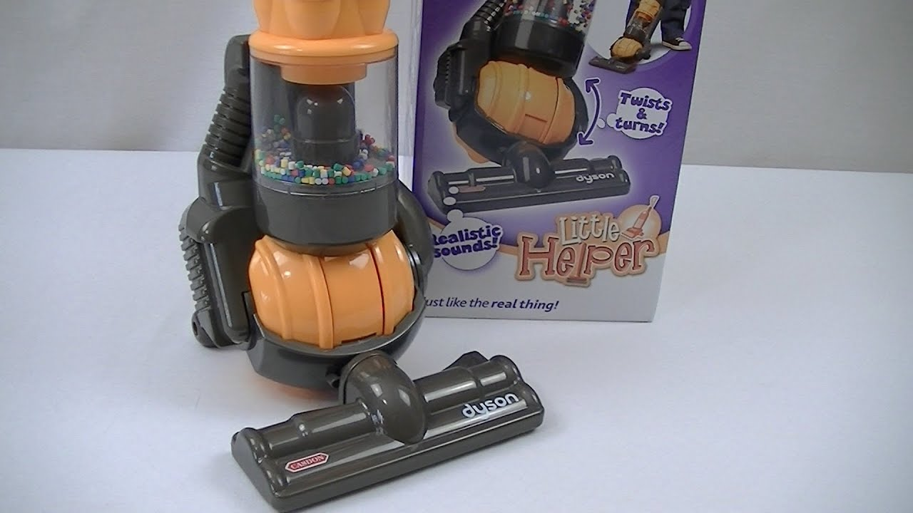 Little Helper Toy Dyson Ball Vacuum Cleaner By Casdon
