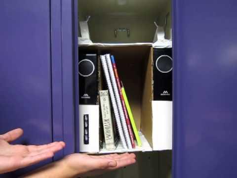 Locker Shelf Unit Close Up Youtube