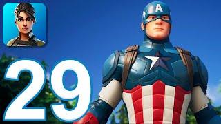 Fortnite Chapter 2 - Gameplay Walkthrough Part 29 - Captain America (iOS)