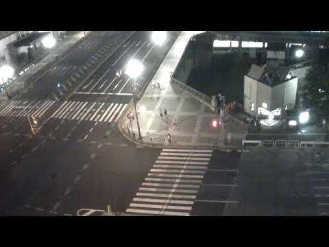 GV-cloud クラウド 監視 カメラ システム  四谷交差点ライブカメラ Live Camera Yotsuya Intersection Tokyo, Japan