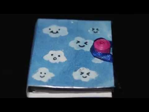 MINI BOOK! || DIY SECRET DIARY!! ||CraftyCreations