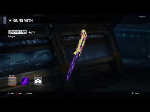 BO3 | Dark Matter Ballistic Knife