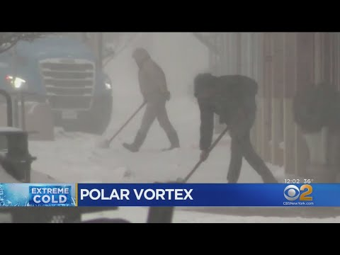 Dangerous Polar Vortex Brings Cold Weather To The Midwest
