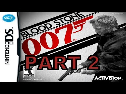 James Bond 007 Blood Stone Nds Walkthrough Part 2 With