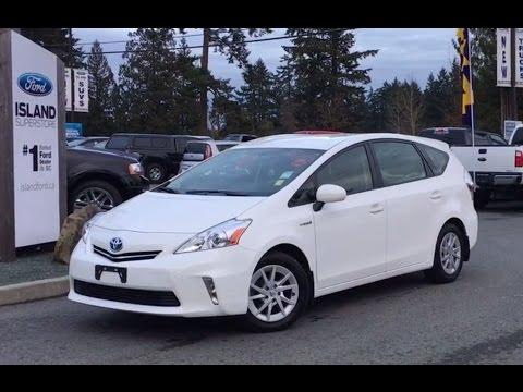 2017 Toyota Prius V Hybrid Review Island Ford