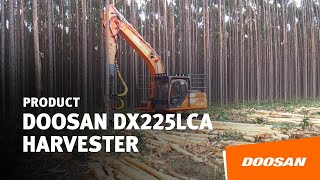 DOOSAN DX225LCA harvester Thumbnail