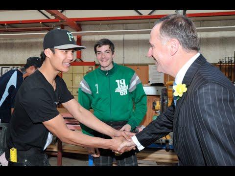 Prime Minister John Key - Training Programme Launched