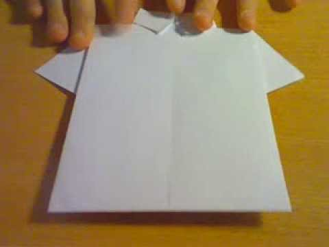 Рубашка. Оригами - YouTube 57505715c5a1c