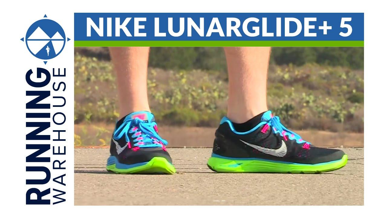 ea262c4a1 Nike LunarGlide+ 5 Running Warehouse Shoe Review - YouTube