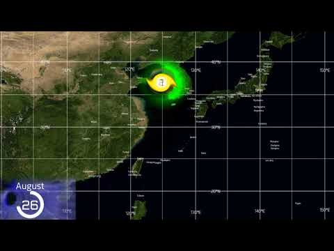 Track of Typhoons