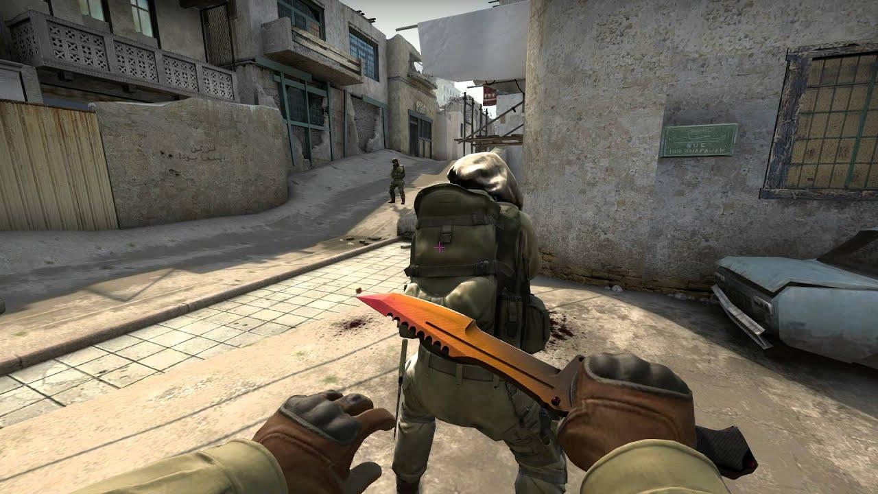 CS GO: Huntsman Knife Fade Factory New Showcase - YouTube Huntsman Knife Fade