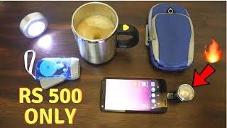 Unique Gadgets Under Rs500 | Part 3 | Tech Unboxing 🔥