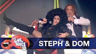 Gogglebox stars Steph & Dom perform