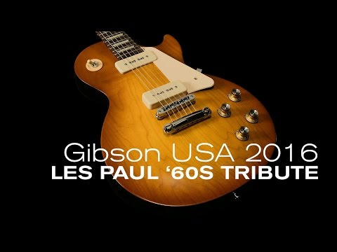 Gibson 2016 Les Paul '60s Tribute Overview  •  Wildwood Guitars