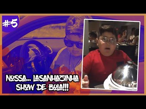 NOSSA...LASANHAZINHA SHOW DE BOLA!