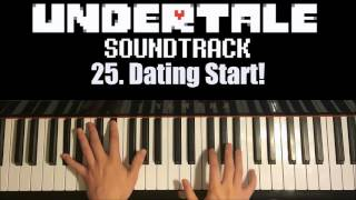 Undertale OST - 25. Dating Start! (Piano Cover by Amosdoll)