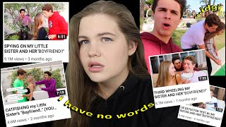 brent rivera's odd obsession with his little sister's boyfriend