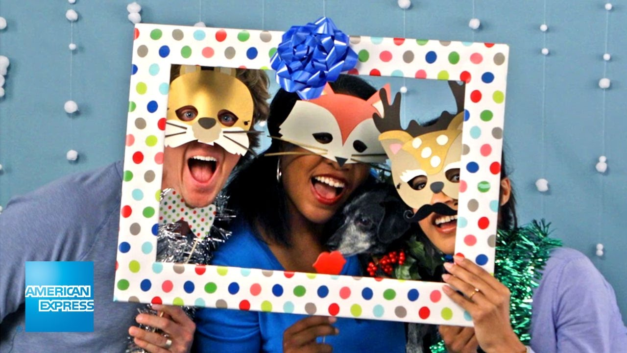 Holiday Photo Booth   Epic Everyday   American Express