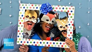 Holiday Photo Booth | Epic Everyday | American Express