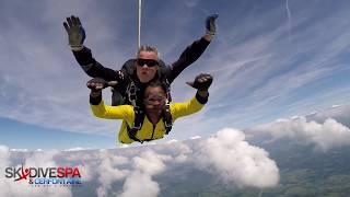 Skydive spa Belgium (HD) - 2017