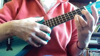 You Are My Sunshine - easy Ukulele melody