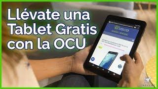 Cómo conseguir una tablet gratis gracias a la OCU