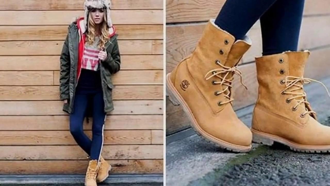 Moda y tendencias 2018: outfits con botas timberland mujer
