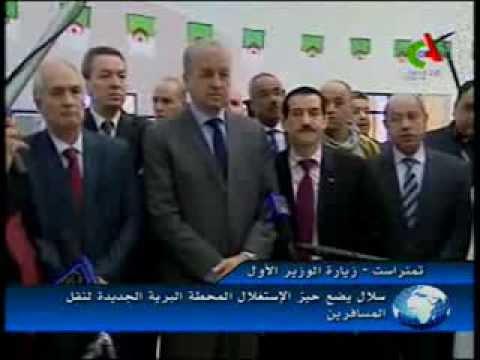 الوزير الأول عبد المالك سلال في زيارة عمل وتفقد لولاية تمنراست