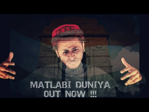 Latest Hindi Rap Song 2017 || Matlabi Duniya || RAPPER WOLF || Music Video 2017 || DesiHipHop
