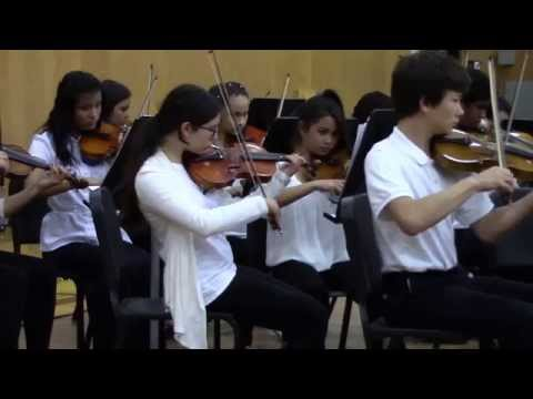 2015 Middle School Honor Orchestra - Sahara Crossing