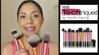 REVIEW BROCHAS INDIVIDUALES REAL TECHNIQUES BY SAMANTHA CHAPMAN | MARIEBELLE