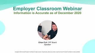 Employer Classroom Webinar Recording
