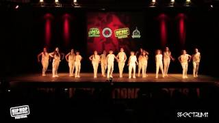 XS Dance Crew | 6º Lugar Divisão Megacrew @ Hip Hop International Portugal 2015 | Finais