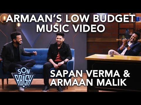 Armaan Malik's low budget music video | Son Of Abish