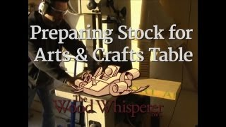 11 - Preparing Stock For The Arts & Crafts Table  (part 2 Of 4)