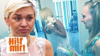 Die verbaute Hochzeit: Bauschaum statt Haarschaum in die Brautfrisur | Hilf Mir!
