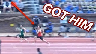 Anchor Turns On The Jets To Win 4x100m!
