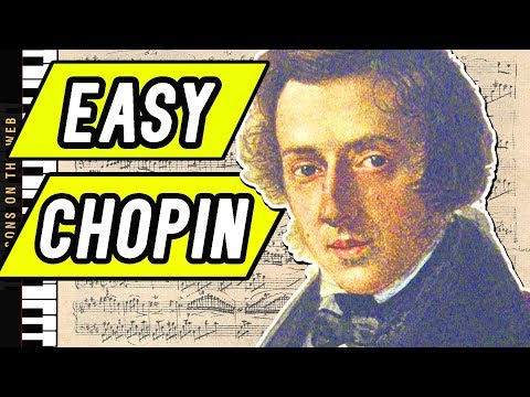 The Easiest Chopin Pieces on Piano that Beginners Can Learn
