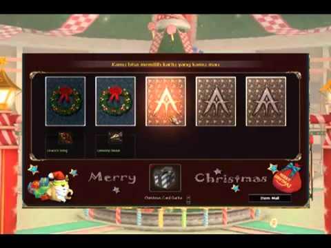 Christmas Gacha Card - YouTube