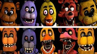 Unwithered Animatronics Jumpscares