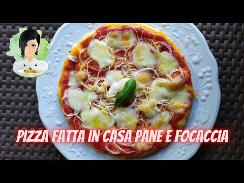 fare-pizza-pane-focaccia-con-lo-stesso-impasto-make-pizza-bread-focaccia-with-the-same-dough