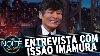 Entrevista com Issao Imamura   The Noite (29/09/17)
