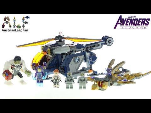 Lego Avengers Endgame 76144 Avengers Hulk Helicopter Rescue - Lego Speed Build Review