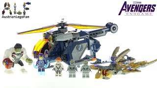 Lego Avengers Endgame 76144 Avengers Hulk Helicopter Rescue - Lego Speed Build Review