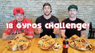 18 Gyros Challenge (Possible Puke Save)   59 Failed Attempts