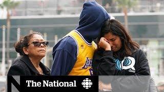 Kobe Bryant's death stuns fans worldwide