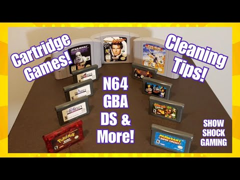 A Quick Tip for Cleaning Cartridge Based Games (N64/GBA/DS/3DS)