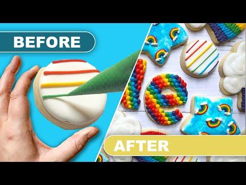 TUTORIAL | Rainbow Bae Cookies | THE GRACEFUL BAKER