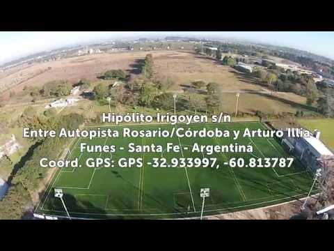 Sobrevolando Centro Deportivo Gran Rosario