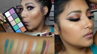 NYX Avant POP ART THROB Talk Through Makeup Tutorial FIRST IMPRESSIONS - Alexisjayda